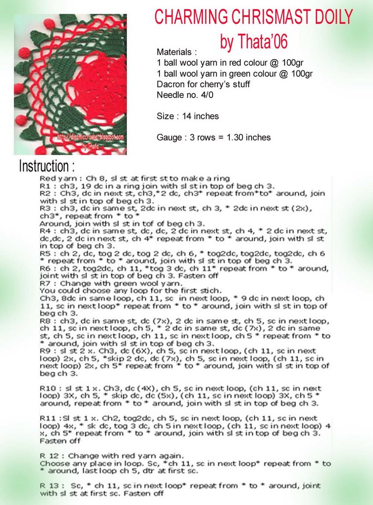 Make a Doily Christmas Tree from a Stiffened Doily