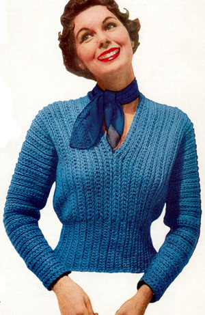Sweater Crochet Patterns - Cross Stitch, Needlepoint, Rubber