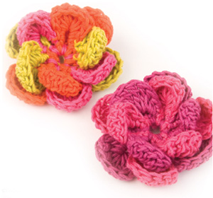 Easy Crochet Flowers | Fine Craft Guild .com
