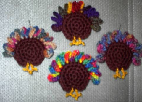 Free Crocheted Fridgie Patterns
