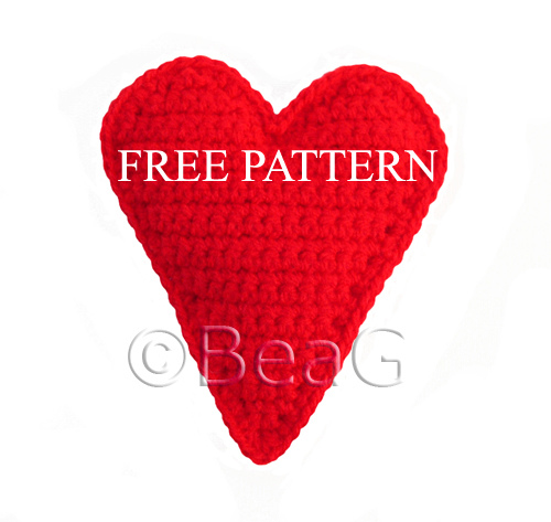Free Crochet Heart Pattern Designs
