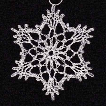 cro snowflake for cards  1109