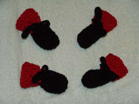 Knitting Patterns For Dog Booties : Knitted Dog Booties Pattern Free images