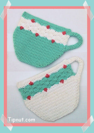Crocheted Potholder And Hot Pad Links - InReach - Business class