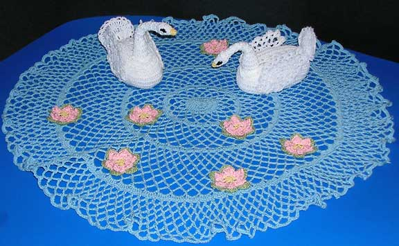 swan crochet pattern | eBay - Electronics, Cars, Fashion